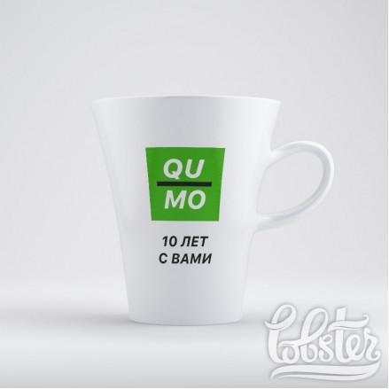 """дизайн для печати на кружках для компании """"Qu mo"""""""